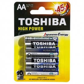 STILO ALKALINE HIGH POWER BL 4PZ TOSHIBA LR6 B4