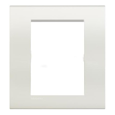PLACCA LIVING LIGHT QUADRA 3+3 MODULI BIANCA