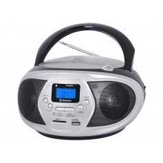 RADIO LETTORE CD PORTATILE USB CON BLUETOOTH